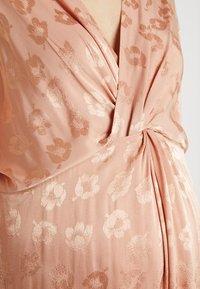 Topshop Maternity - KNOT MIDI - Korte jurk - nude - 5