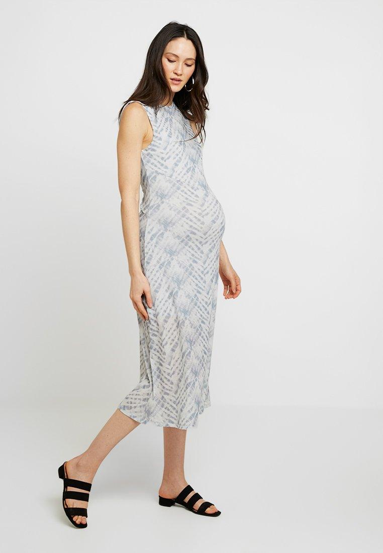 Topshop Maternity - DYE SLEEVELESS - Maxi dress - grey
