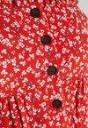 Topshop Maternity - SPLIT FRONT - Freizeitkleid - red