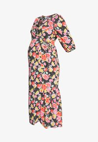 Topshop Maternity - DREAM WRAP DRESS - Sukienka letnia - black - 4
