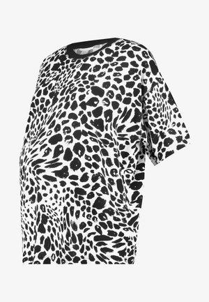 CHEETAH BOXY TEE - T-shirt print - mono