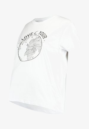 LOVE WORLD - T-shirt print - white