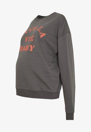 VIVE LA VIE BABY - Felpa - washed black