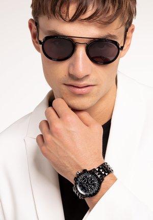 Sunglasses - matt black/glossy black