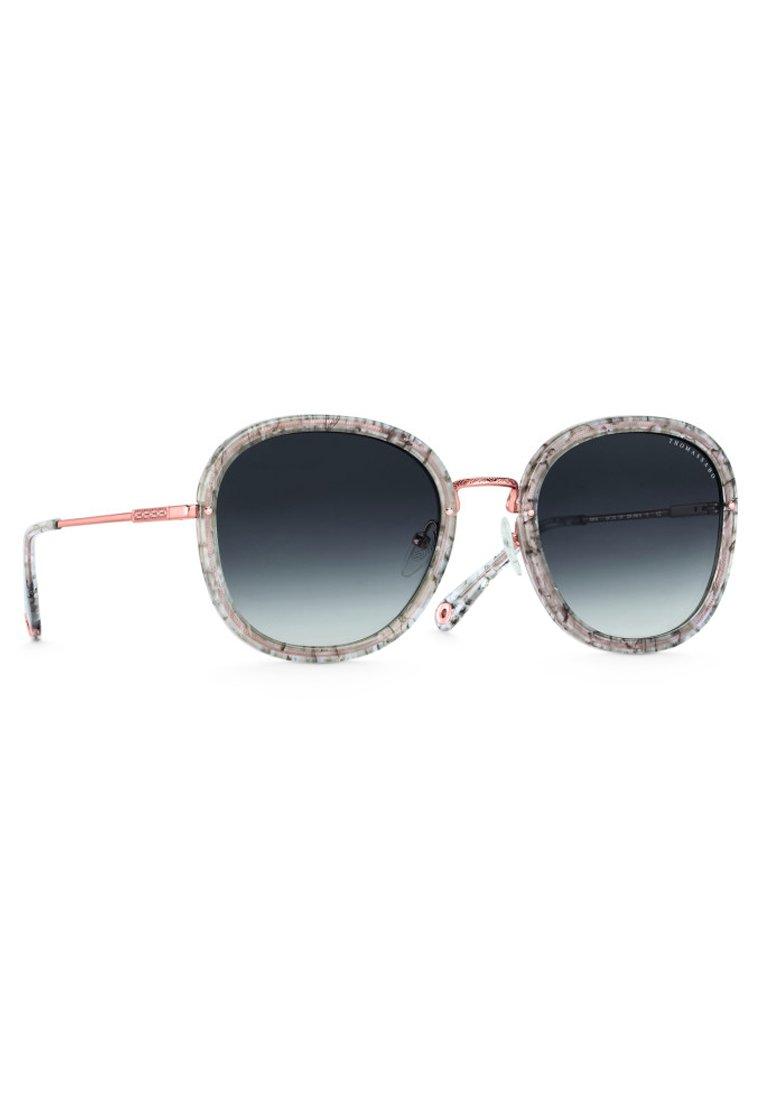 THOMAS SABO Sunglasses - rose gold shiny/gray glossy