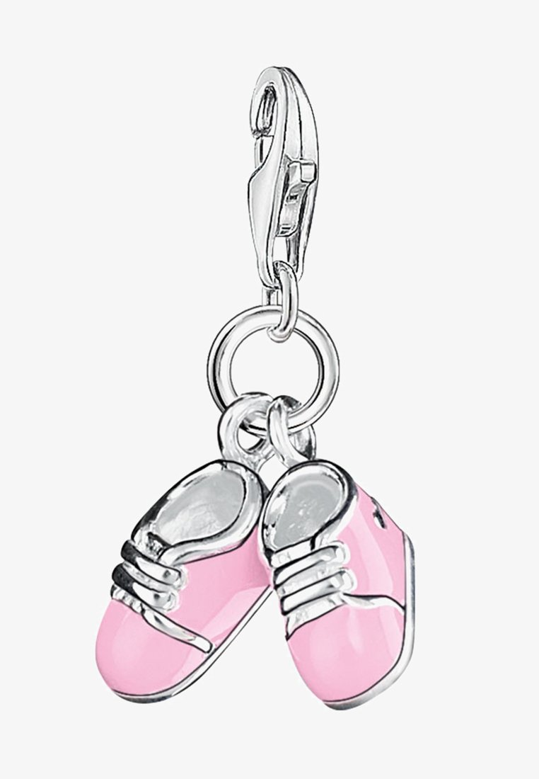 THOMAS SABO - BABYSCHUHE - Anhänger - silver-colored/pink