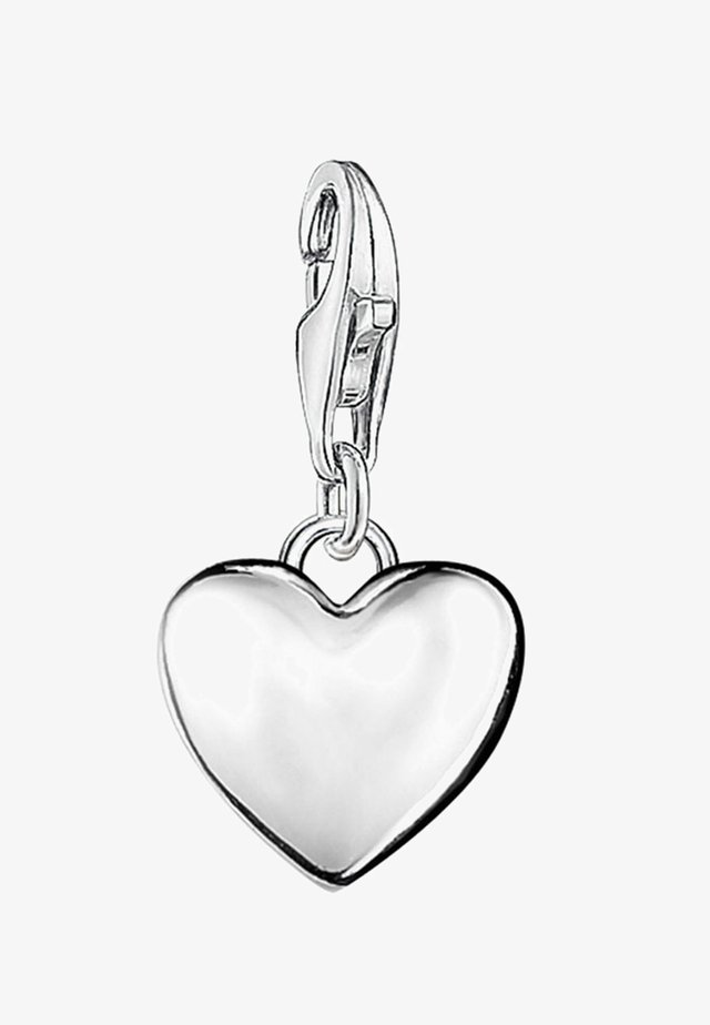 HERZ - Pendant - silver-colored