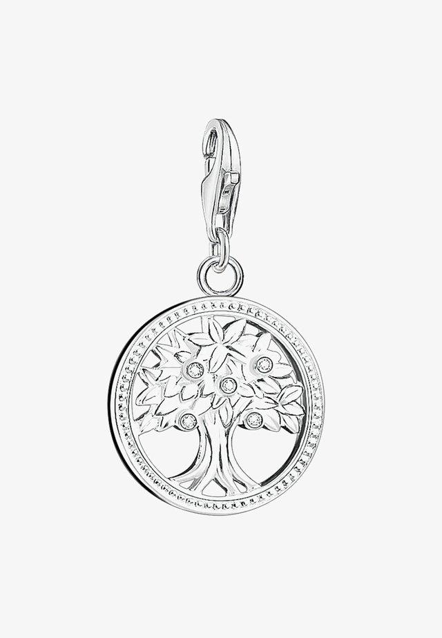 LEBENSBAUM - Pendant - silver-colored/white
