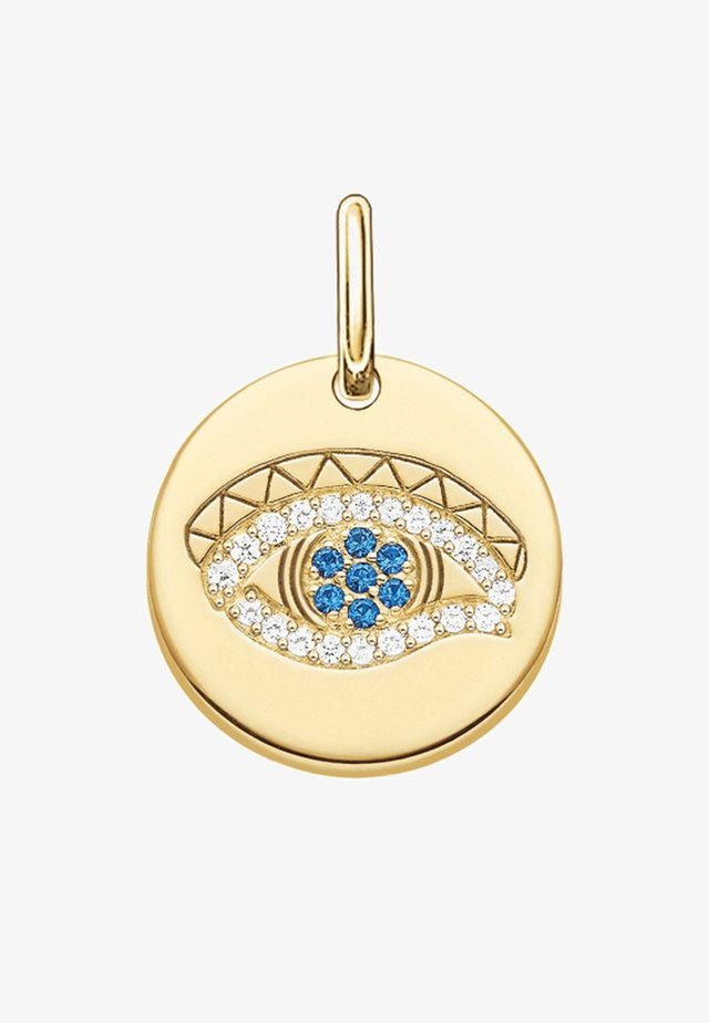 Auge des Horus Coin - Pendant - gold-coloured/dark blue