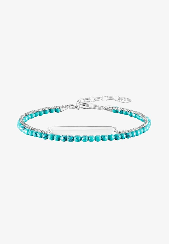 Armband - silver-coloured/ turquoise
