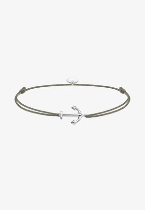 LITTLE SECRET ANKER - Armband - silver-coloured/grey