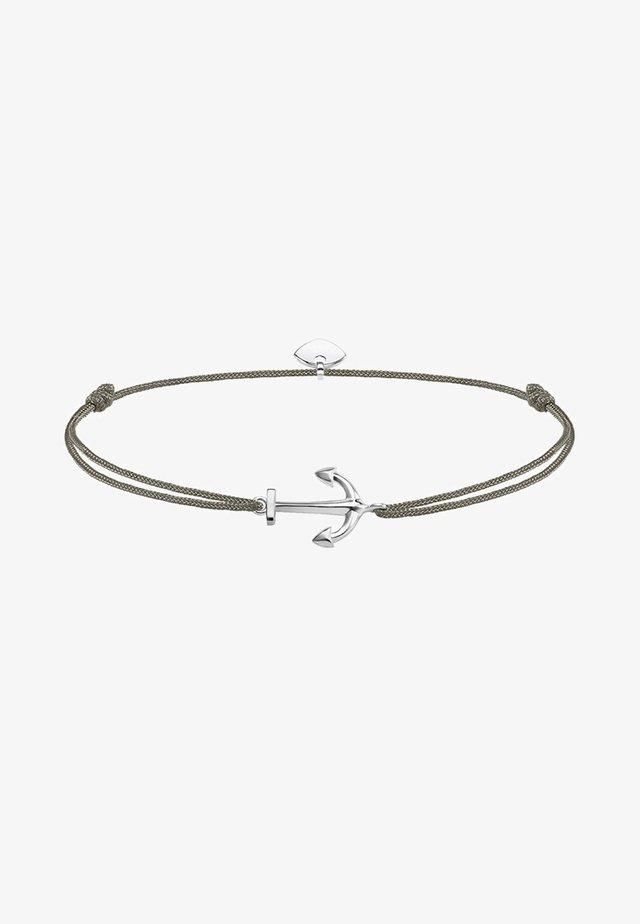LITTLE SECRET ANKER - Armband - silver-coloured/grey