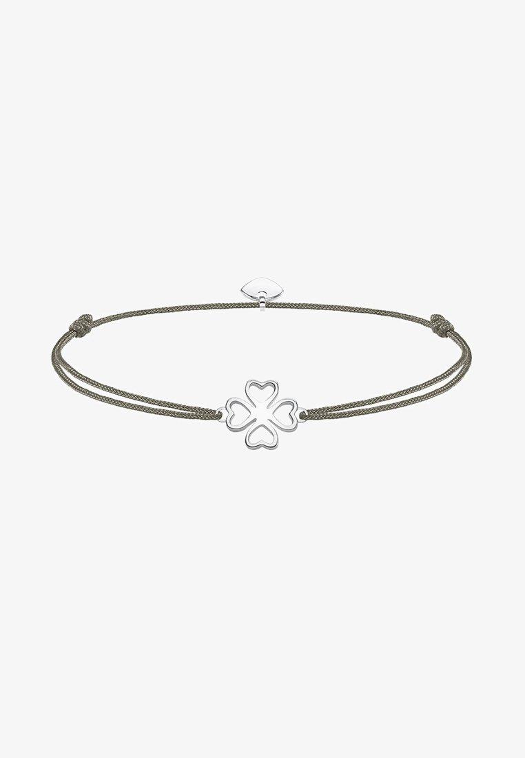 THOMAS SABO - LITTLE SECRET KLEEBLATT - Armband - silver-coloured/grey