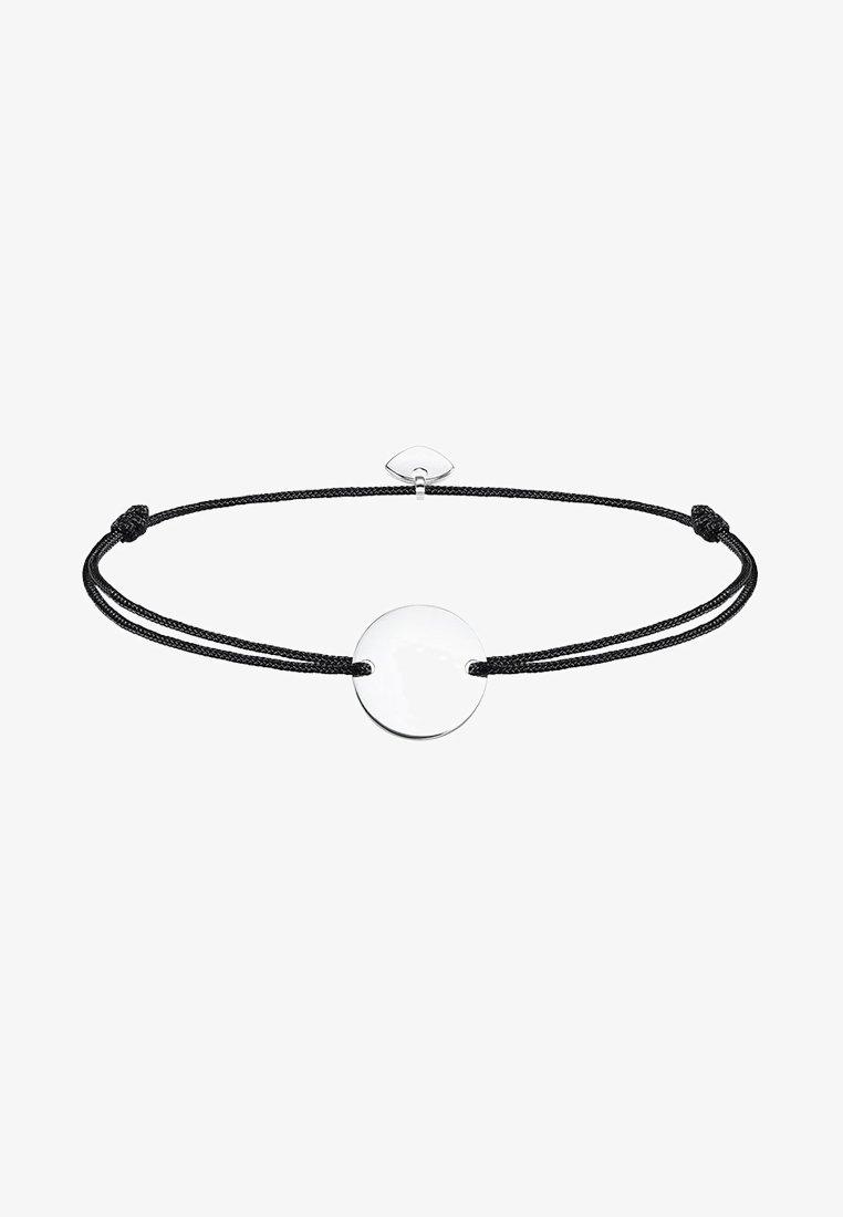 THOMAS SABO - LITTLE SECRET COIN - Bracelet - silver-coloured/black