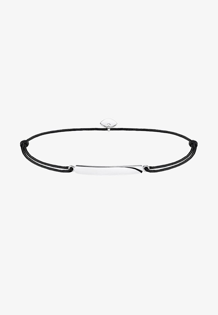 THOMAS SABO - LITTLE SECRET CLASSIC - Armband - silver-coloured/black/white