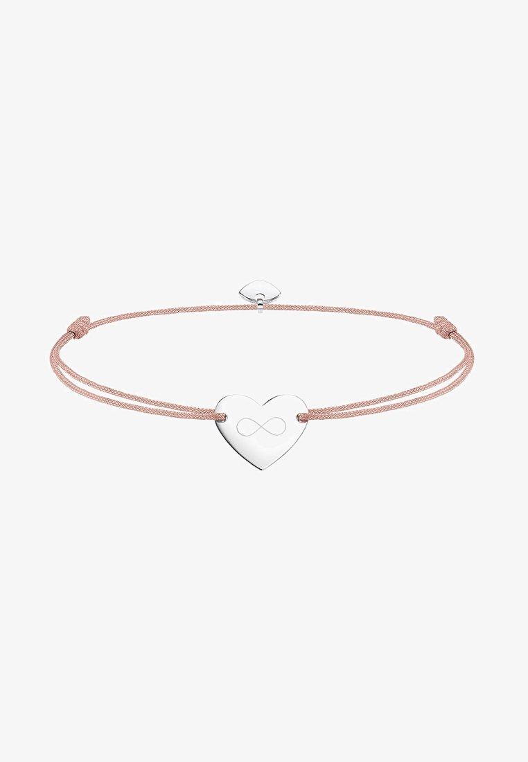 THOMAS SABO - LITTLE SECRET INFINITY - Bracelet - silver-coloured/beige