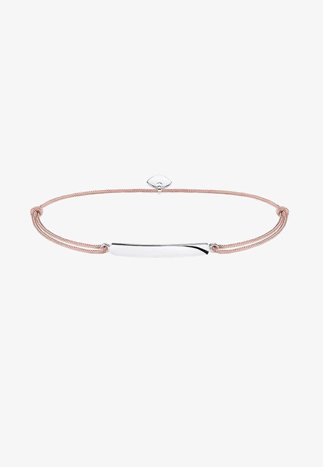 LITTLE SECRET CLASSIC - Armband - silver-coloured/beige
