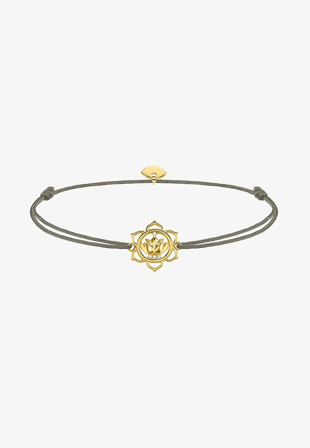 LITTLE SECRET LOTUSBLÜTE - Armband - gold-coloured/grey/white
