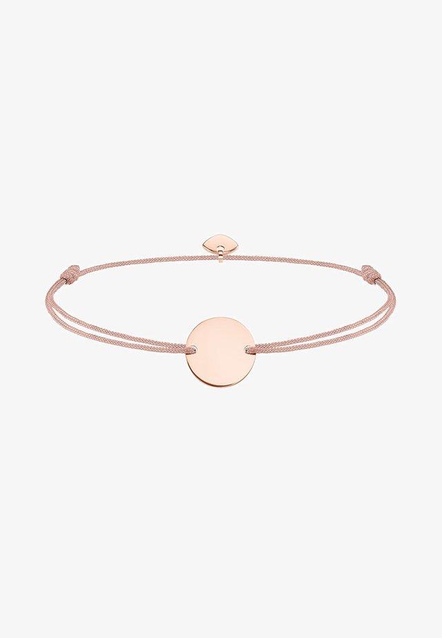 LITTLE SECRET COIN - Armband - rosegold-coloured/beige