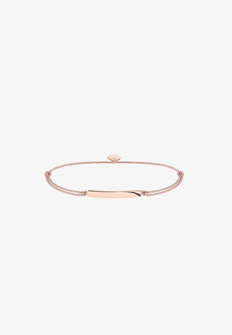 THOMAS SABO - LITTLE SECRET - Armband - rosegold-coloured/beige