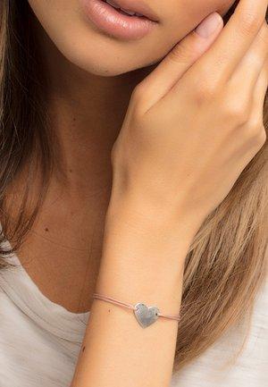 """LITTLE SECRET"" - Bracelet - silver-coloured/ beige"