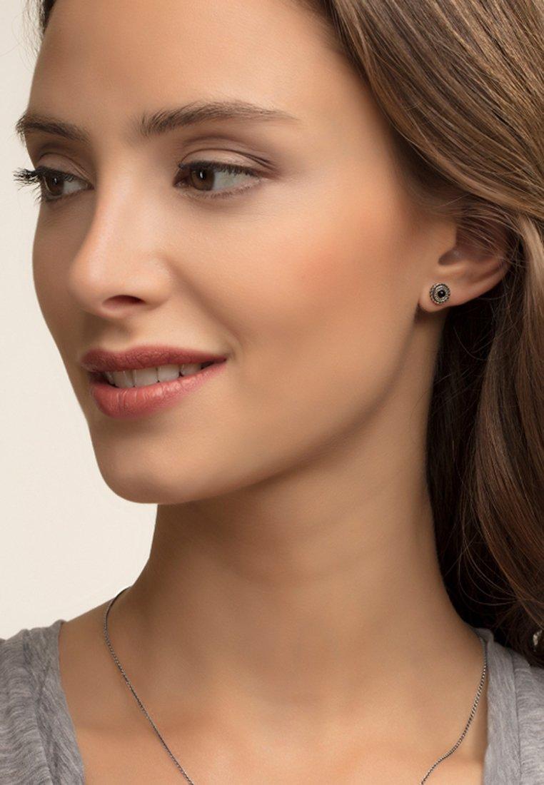 THOMAS SABO - Boucles d'oreilles - silver-coloured/black