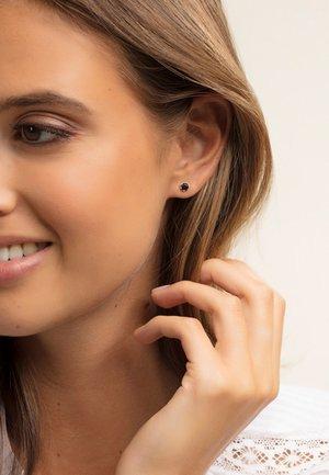 Boucles d'oreilles - silver-coloured/black