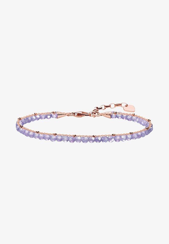 Bracelet - rosegold-coloured/violet