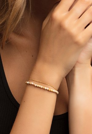 Armband - gold-coloured/beige