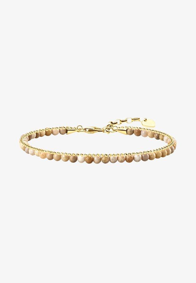 Bracelet - gold-coloured/beige
