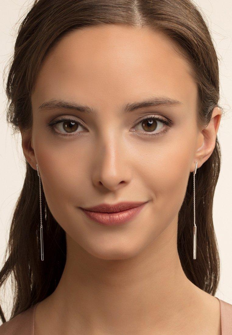 THOMAS SABO - Earrings - silver-coloured/white