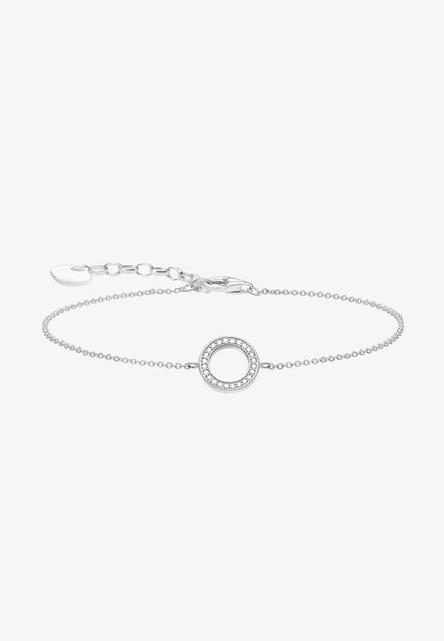 Bracelet - silver-coloured/white
