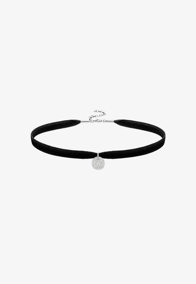 CHOKER SET - Necklace - silver-coloured/white