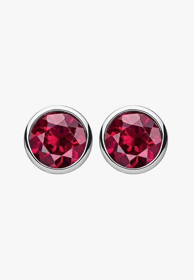 Orecchini - silver-coloured/rouge