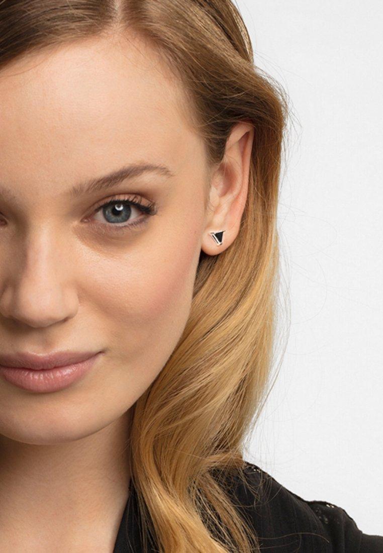 THOMAS SABO - Earrings - silver-coloured/black