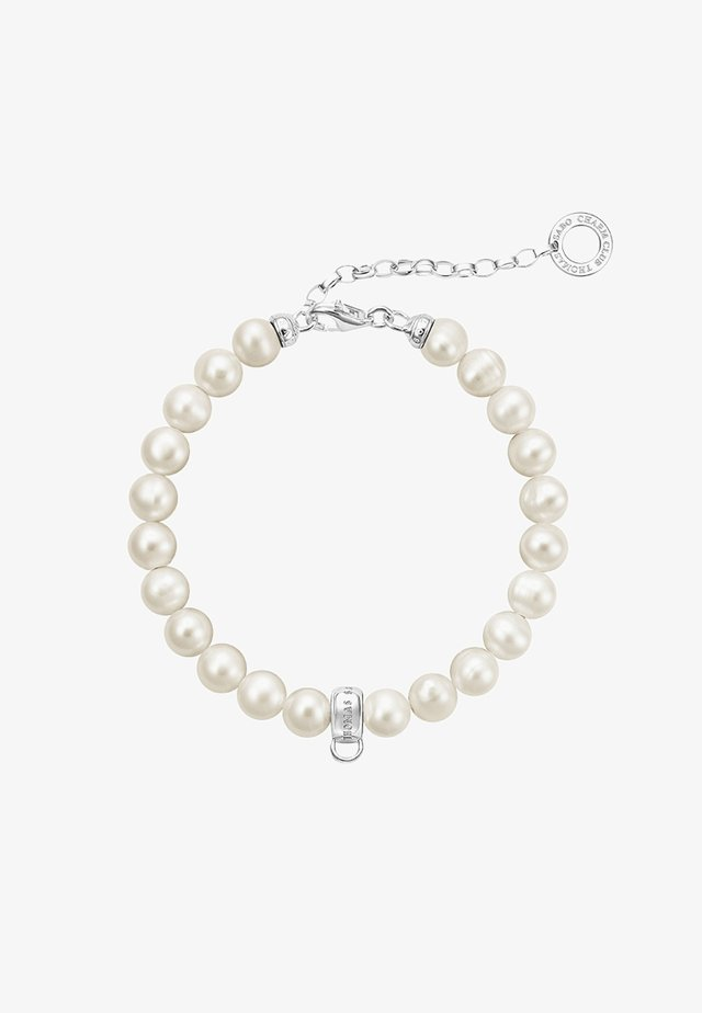 Bracelet - silver-coloured/white