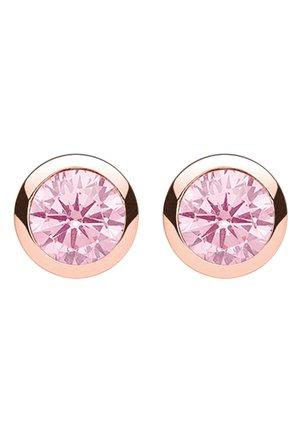 OHRSTECKER - Ohrringe - rosegold-coloured/pink