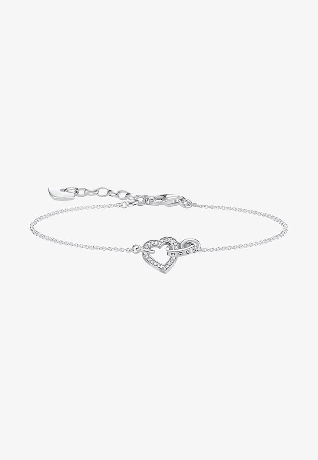 TOGETHER HERZ - Armband - silver-coloured