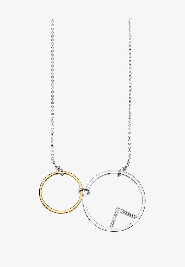 KREISE - Necklace - silver coloured, gold coloured, white