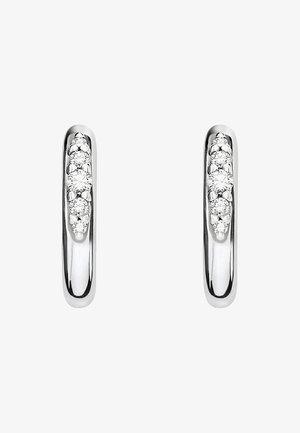 Ohrringe - silver coloured, white