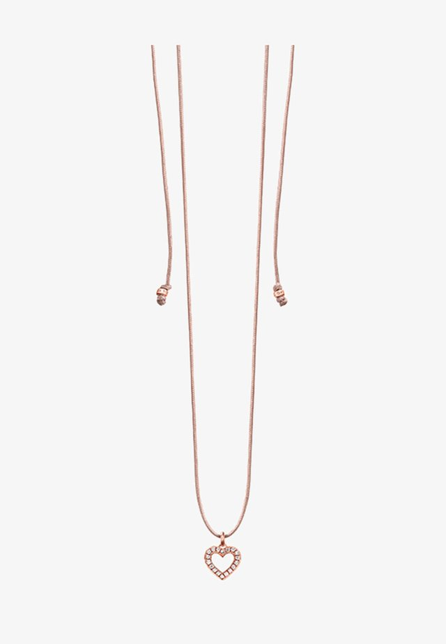 HERZ - Necklace - bi-coloured