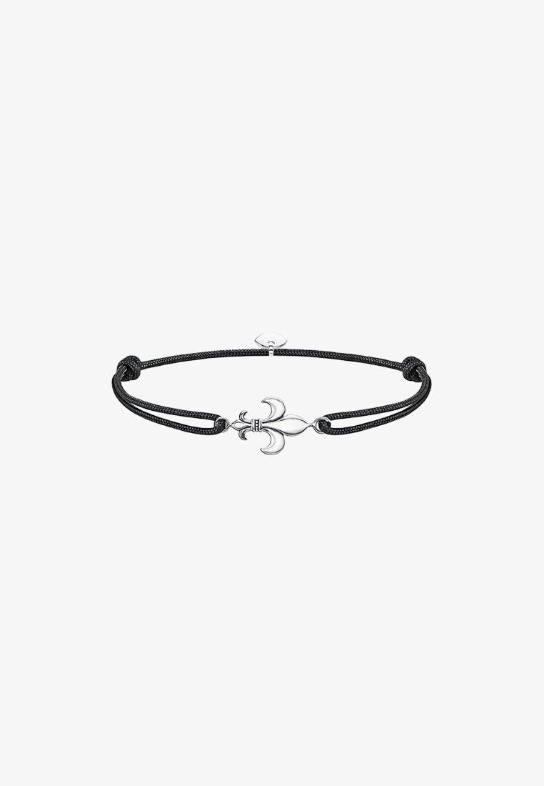 THOMAS SABO - LITTLE SECRET LILIE  - Bracelet - silver-coloured/black