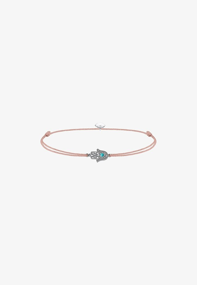 LITTLE SECRET FATIMAS HAND - Bracciale - silver coloured, turquoise, beige