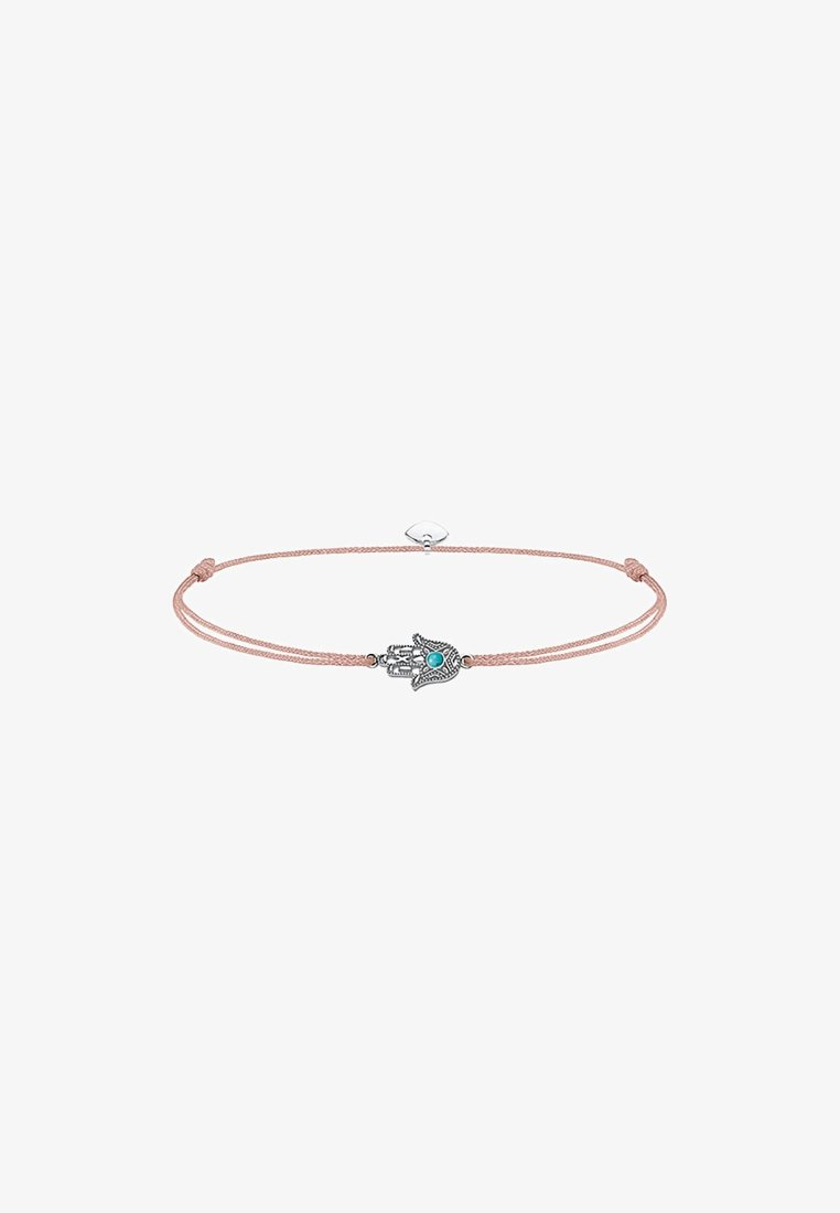 THOMAS SABO - LITTLE SECRET FATIMAS HAND - Armbånd - silver coloured, turquoise, beige