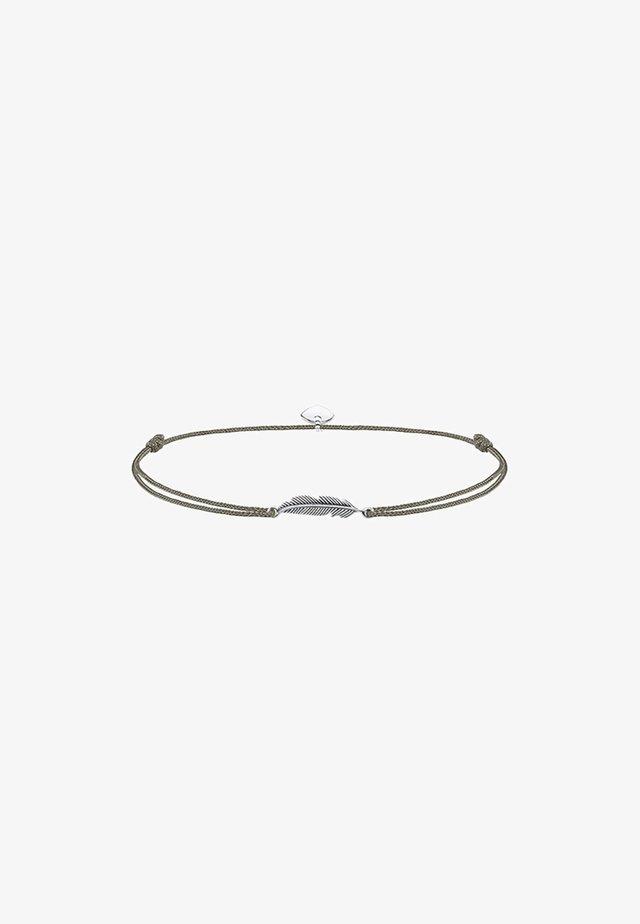 LITTLE SECRET FEDER  - Armbånd - silver-coloured