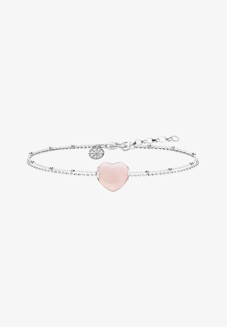 THOMAS SABO - HERZ  - Bracelet - silver-coloured/pink