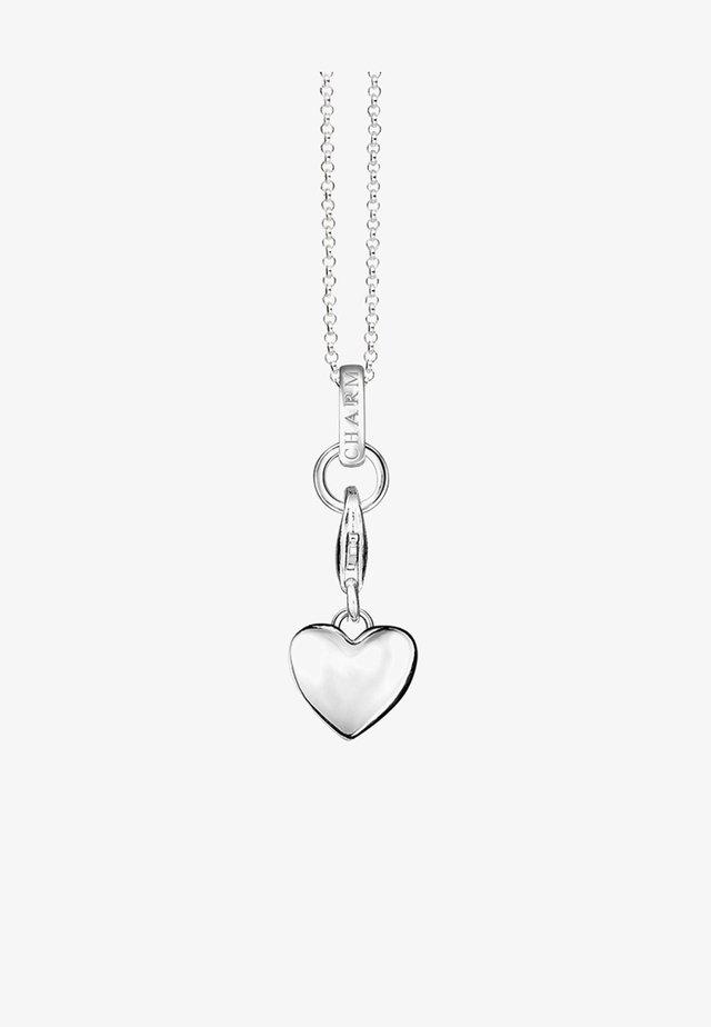 HERZ - Collana - silver-coloured