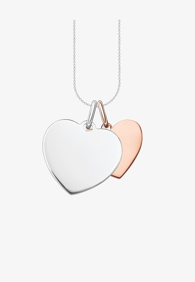 HERZEN  - Necklace - bi-coloured