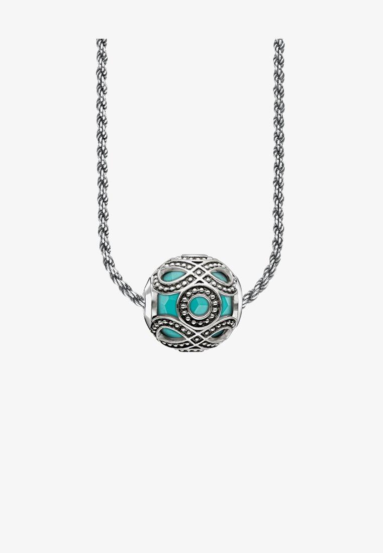 THOMAS SABO - ETHNO TÜRKIS  - Halskette - silver-coloured/turquoise