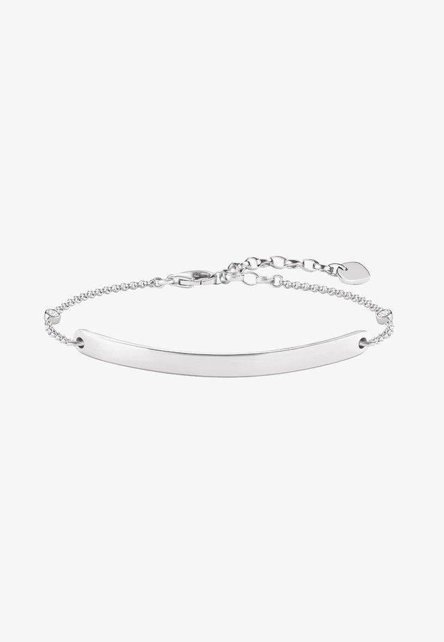 Bracciale - silver coloured, white